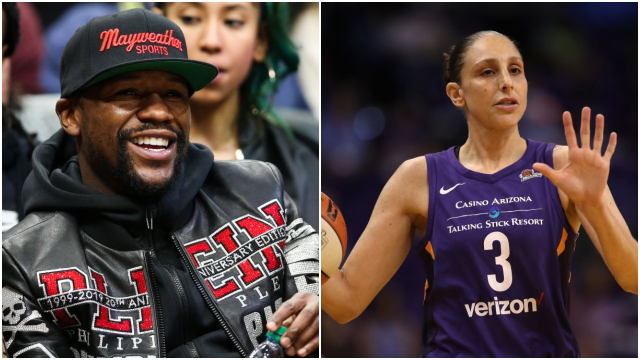Floyd Mayweather Threatened to Buy Diana Taurasi's WNBA Team for Trash-Talking Him