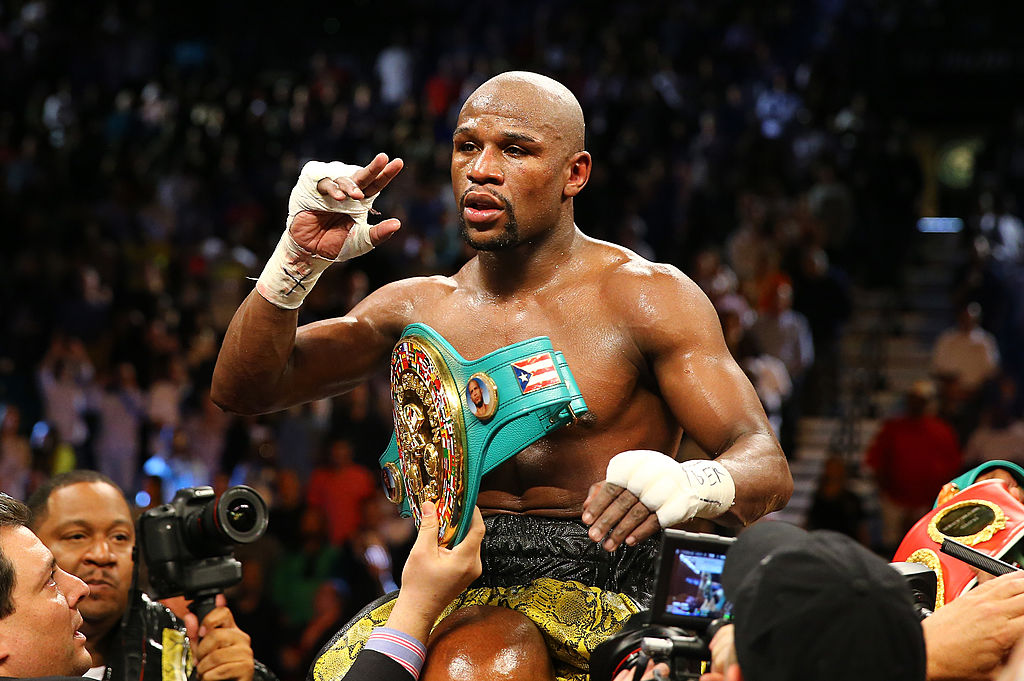 Floyd Mayweather Reveals His Top 5 All-Time Boxers and It's Got Some Surprises