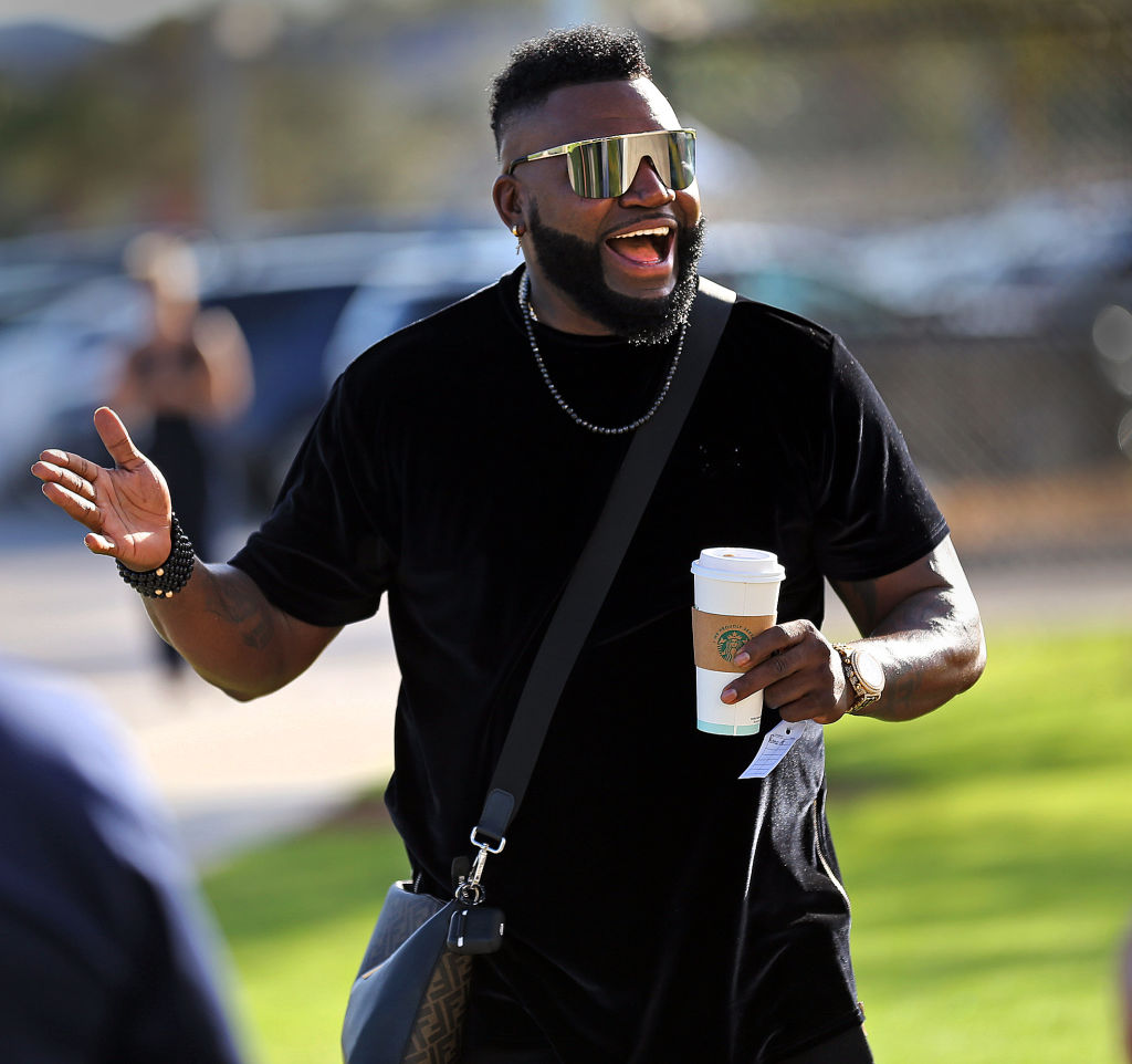 Former Red Sox great David Ortiz arrives at JetBlue Park Complex in 2020