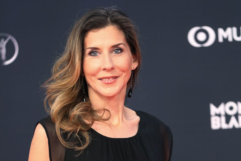 Former U.S. tennis player Monica Seles in 2018