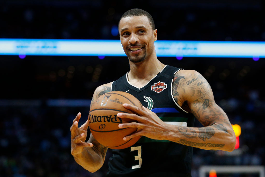 George Hill Hangs Out With Zebras and Kangaroos When He's Not Playing Basketball