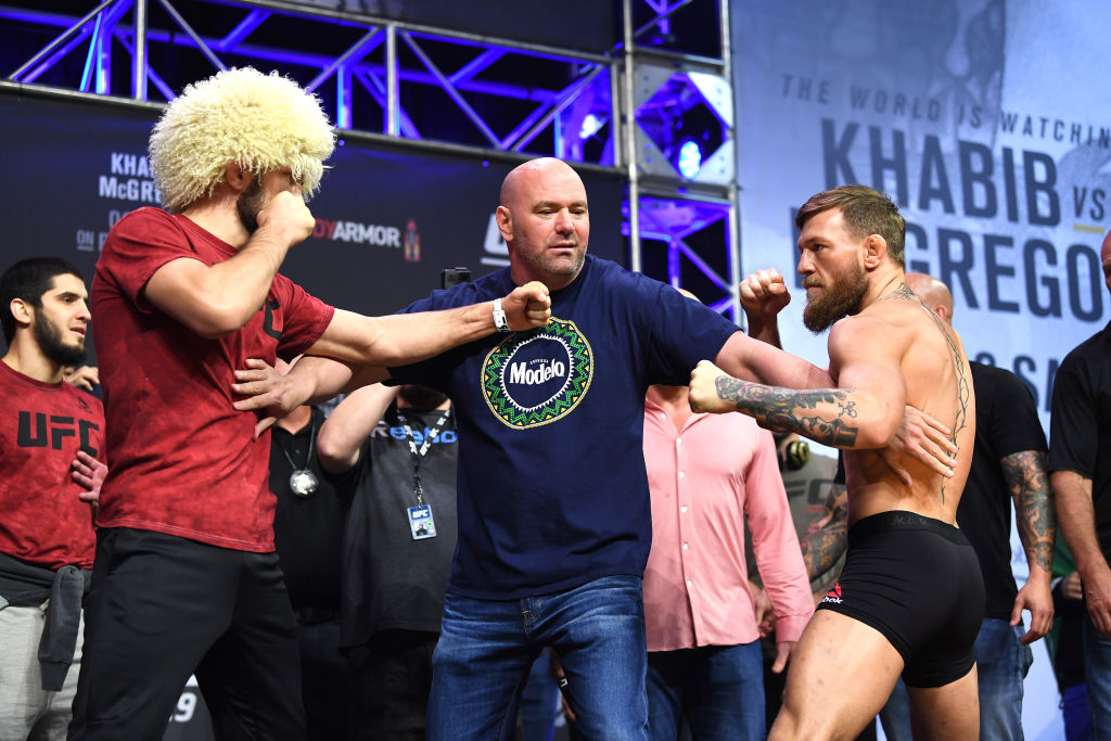 Conor McGregor went after Khabib Nurmagomedov online recently, but he just put their differences aside to send prayers to Khabib's father.