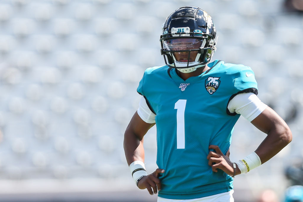 When Joshua Dobbs isn't calling plays and tossing passes for the Jacksonville Jaguars, he's working for NASA as a rocket scientist.