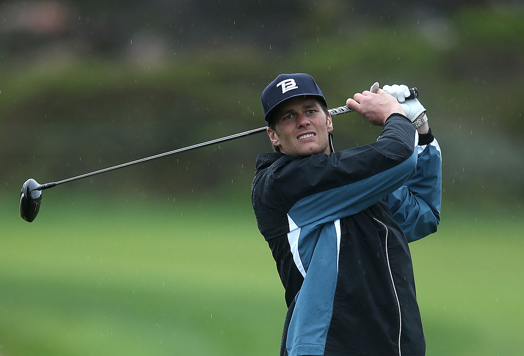 The Match pinning Tom Brady and Phil Mickelson against Peyton Manning and Tiger Woods is this Sunday, so how good are both QBs on the links?