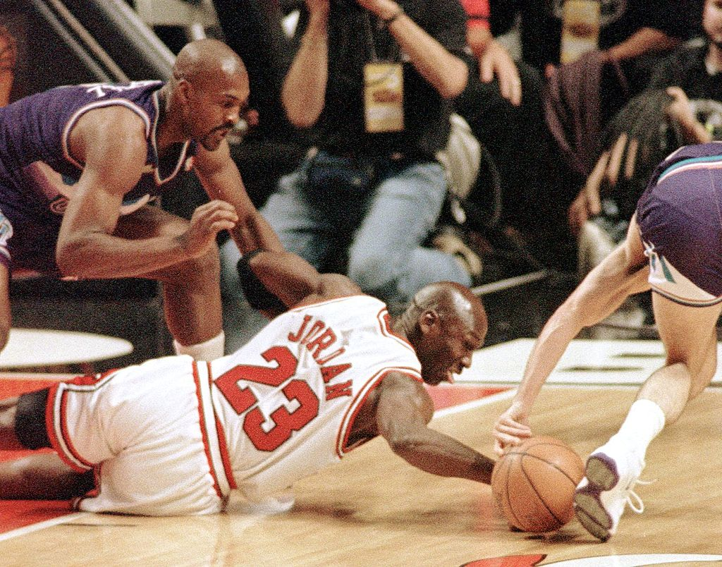 Did Michael Jordan push off against Bryon Russell in 1998? Everyone has their take, but a Utah judge actually ruled it a foul 19 years later.