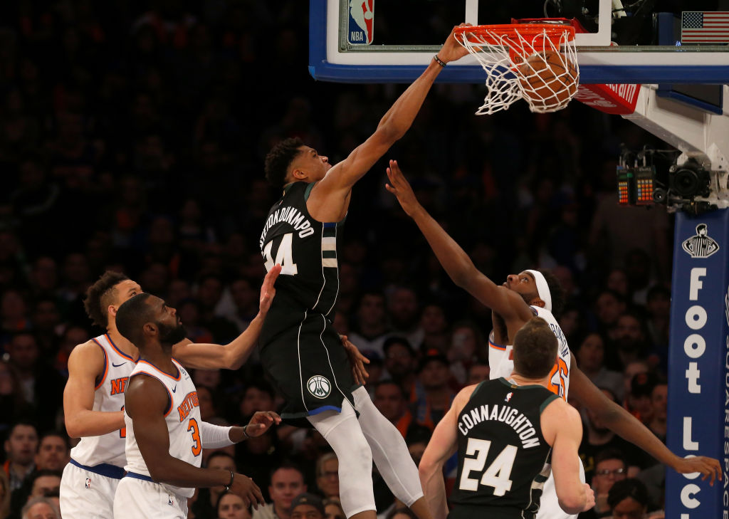 The New York Knicks didn't endear themselves to Giannis Antetokounmpo when they had his brother on the roster.