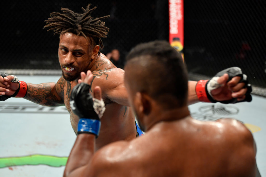 After flaming out of the NFL, Greg Hardy has found a home in the UFC.