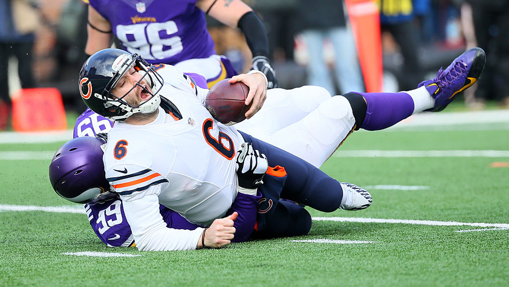 Jay Cutler made more than $100 from the Bears despite delivering just one playoff appearance in eight years.