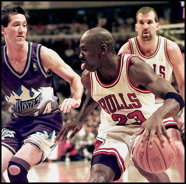 Jeff Hornacek's Advice on Guarding Michael Jordan: 'Don't Make Him Mad'