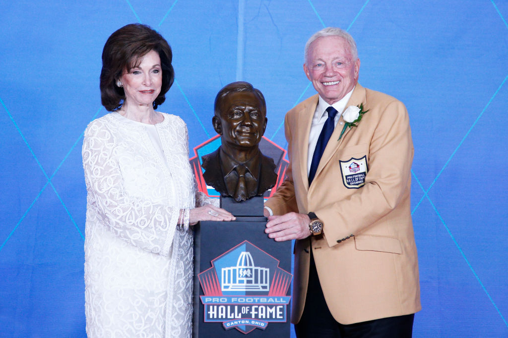 Jerry Jones' wife deserves a lot of credit for his success with the Dallas Cowboys. The two actually met in college during the 1960s.