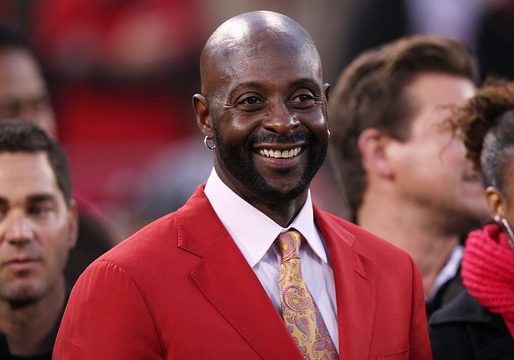Hall of Famer Jerry Rice