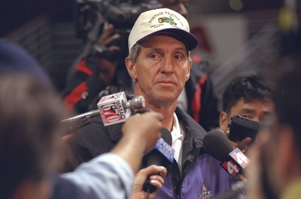Jerry Sloan was a coaching legend with the Utah Jazz.