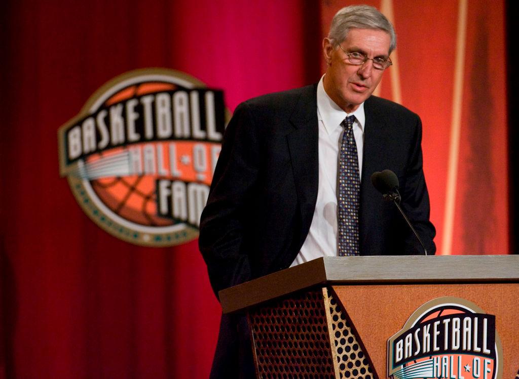 Former Jazz head coach Jerry Sloan