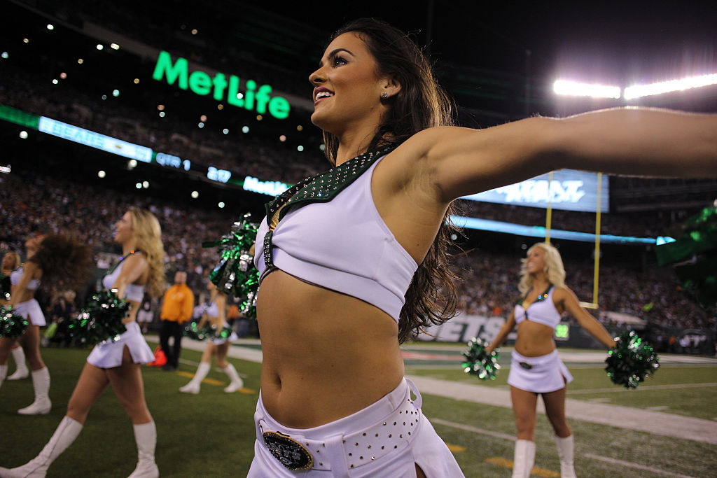New York Jets cheerleaders took the team to court over low wages.