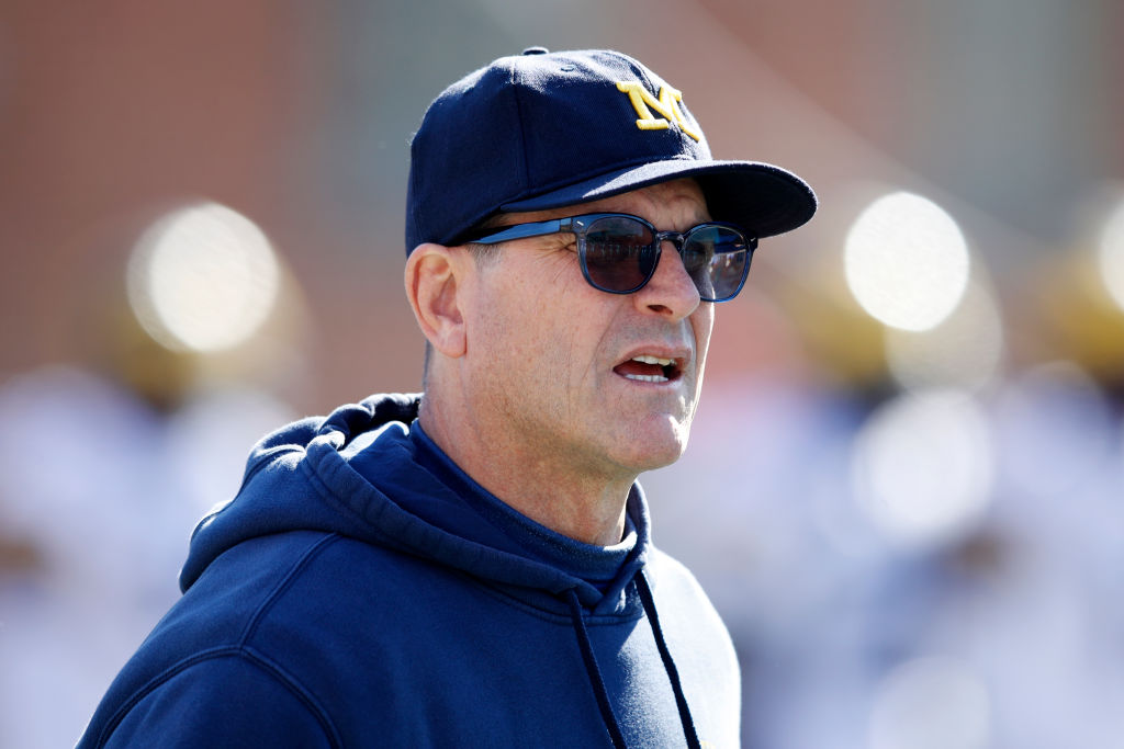 Jim Harbaugh has been a decent head coach. However, his playing career somehow helped him get into a NFL team's ring of honor.