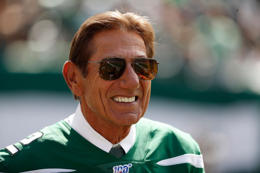 Hall of Famer Joe Namath