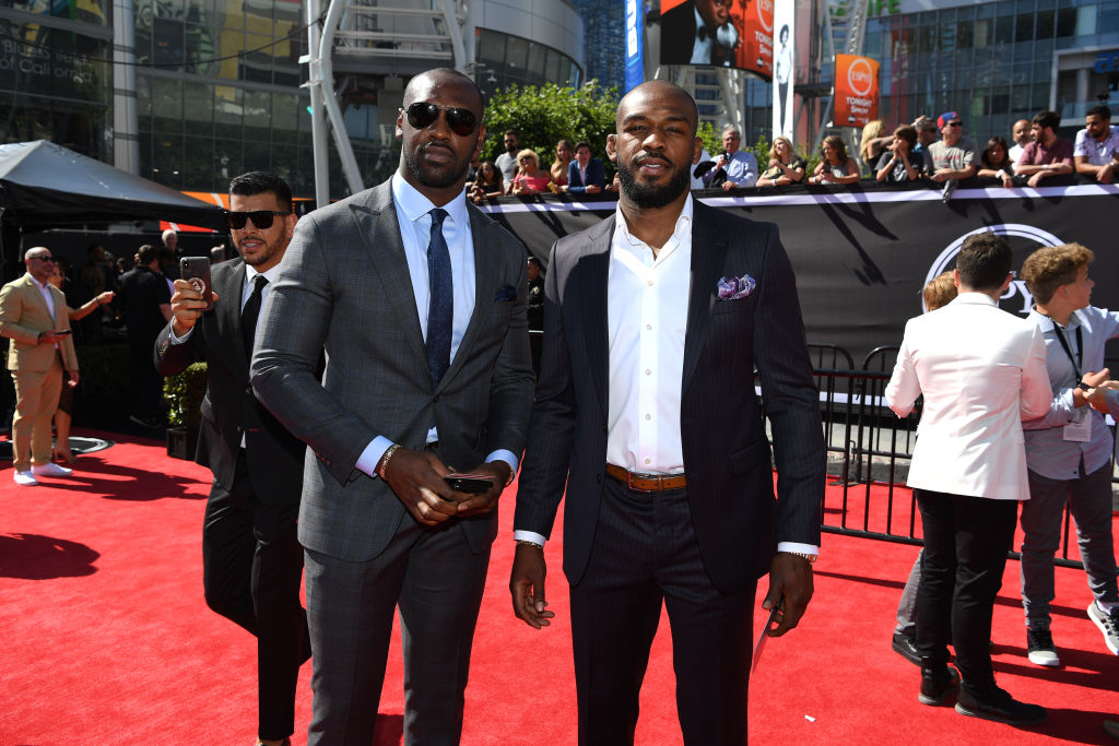 The 2019 ESPYS host Chandler Jones and Jon Jones