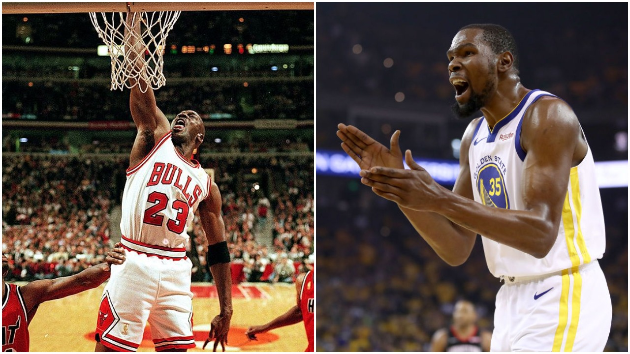 Michael Jordan and Kevin Durant are two of the best player in NBA history. They would have been awful as teammates, though.
