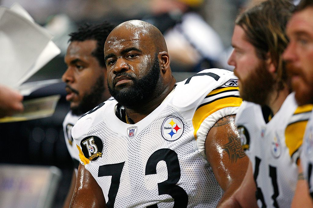 Pittsburgh Steelers offensive lineman Kendall Simmons once missed time for a strange injury he suffered at home.
