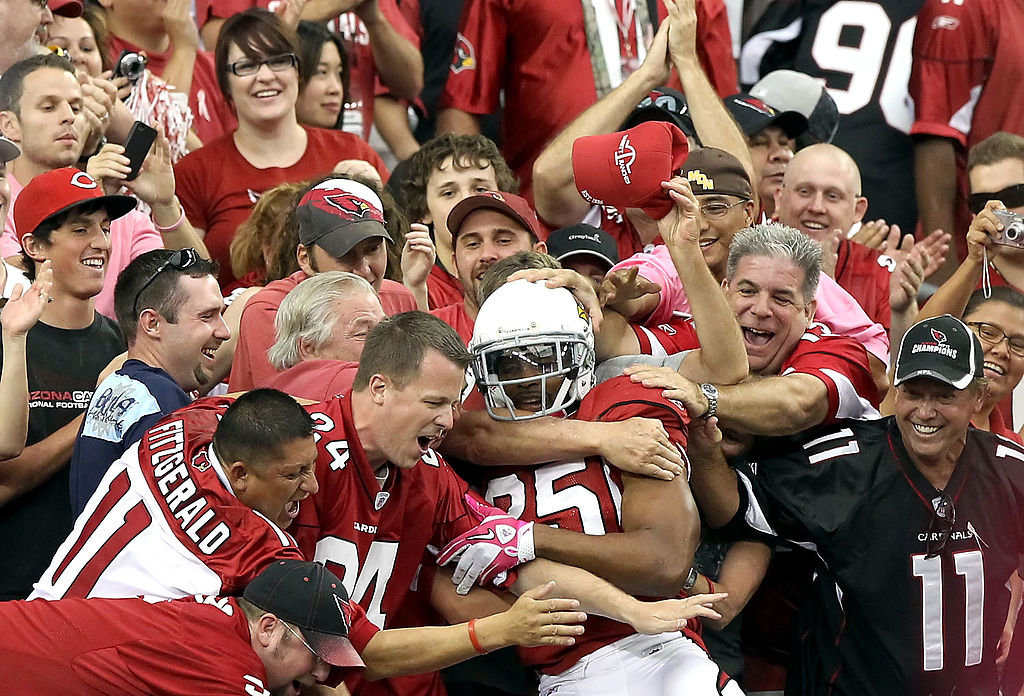 Former Arizona Cardinals star Kerry Rhodes went under the radar as an elite safety. Sexuality rumors ended Rhodes' career in the middle of his prime, though.