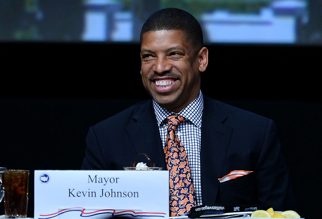 Former NBA point guard Kevin Johnson