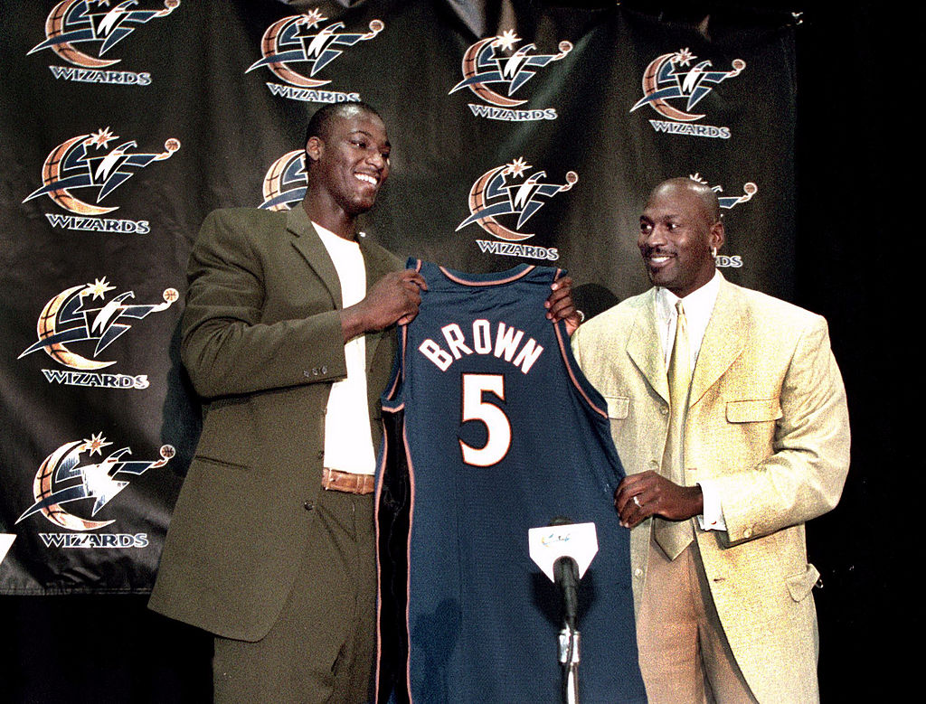 Kwame Brown never turned into an NBA star, but he still made plenty of money.