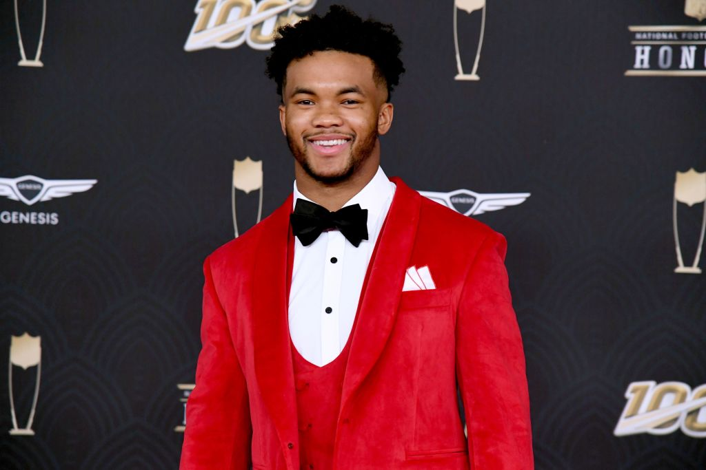 Kyler Murray at an NFL award show