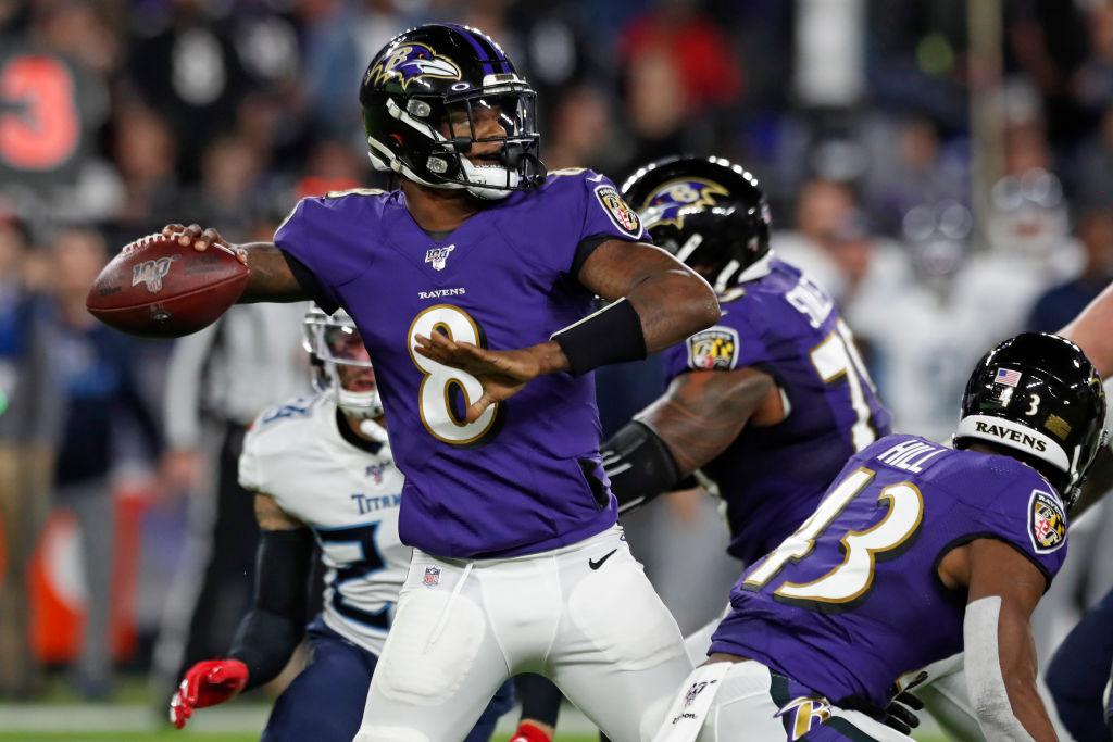 Baltimore Ravens quarterback Lamar Jackson needs to eat shrimp Alfredo before taking the field.