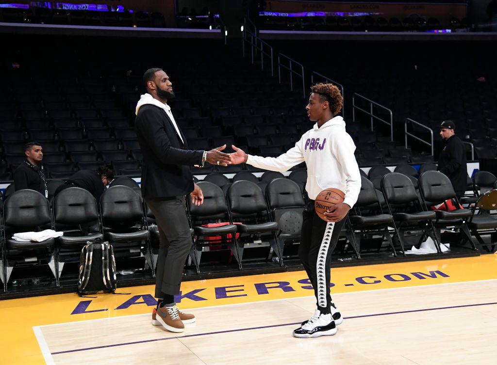 LeBron James regrets naming his son Bronny after himself.