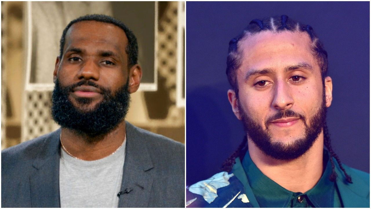 LeBron James Colin Kaepernick