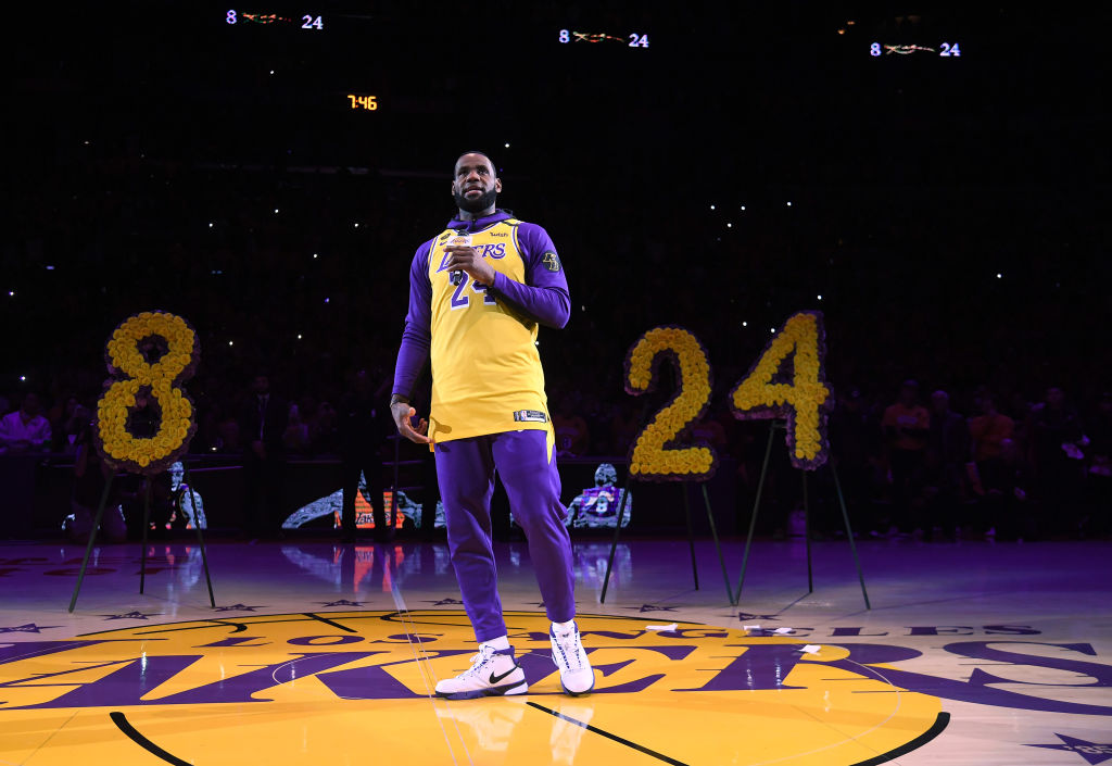 Los Angeles Lakers forward LeBron James is the MVP frontrunner. But that's because of his stats, not because of Kobe Bryant's passing earlier this year.