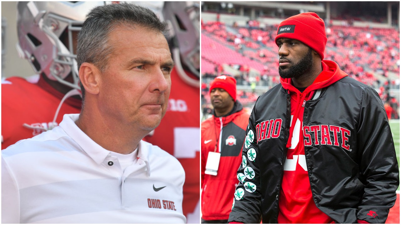 LeBron James was a good high school football player. He was actually so good that Urban Meyer recruited James to play at Notre Dame.