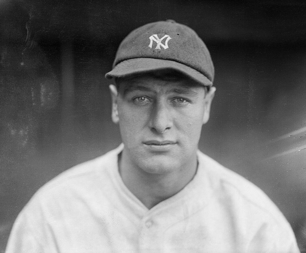 Lou Gehrig in 1927