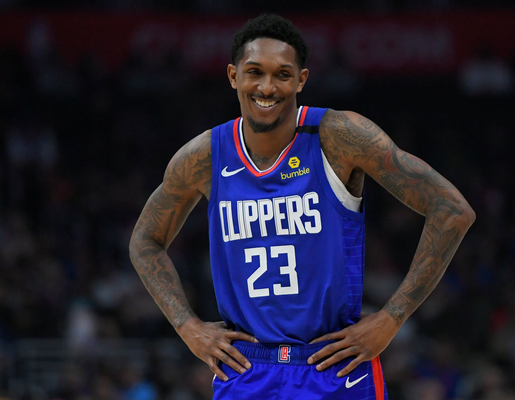 Lou Williams of the LA Clippers