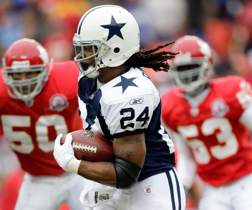 Marion Barber was a bruising running back for the Dallas Cowboys. Since retiring in 2012, though, Barber has run into several legal issues.