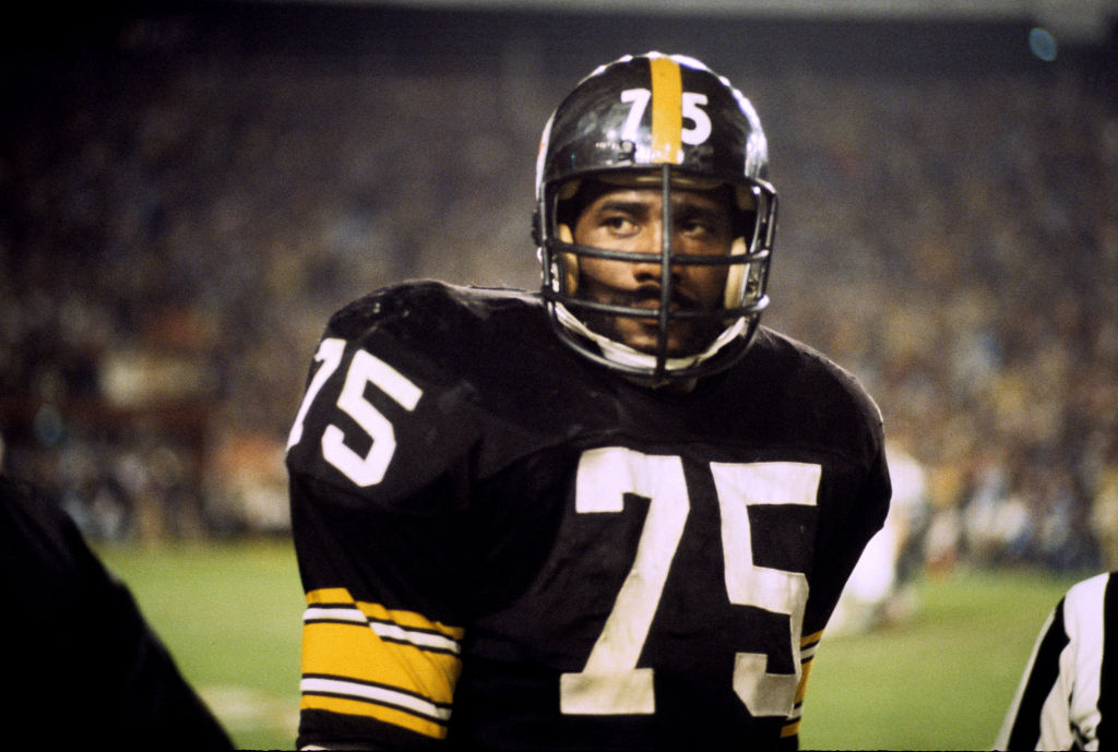 Mean Joe Greene starred for the Pittsburgh Steelers and in an iconic Coke commercial.