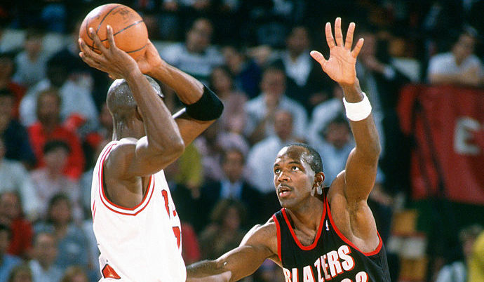 Michael Jordan overshadowed Clyde Drexler both on the basketball court and in terms of net worth.