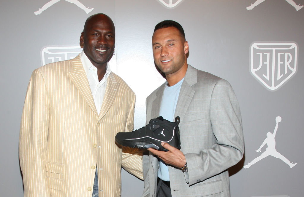 Michael Jordan Invested Millions to Join Forces with Derek Jeter