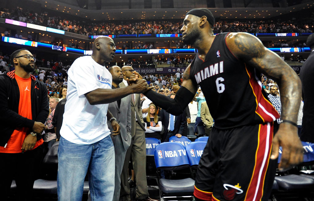 While LeBron James is set to star in 'Space Jam 2' Michael Jordan once nominated another player for the lead role.