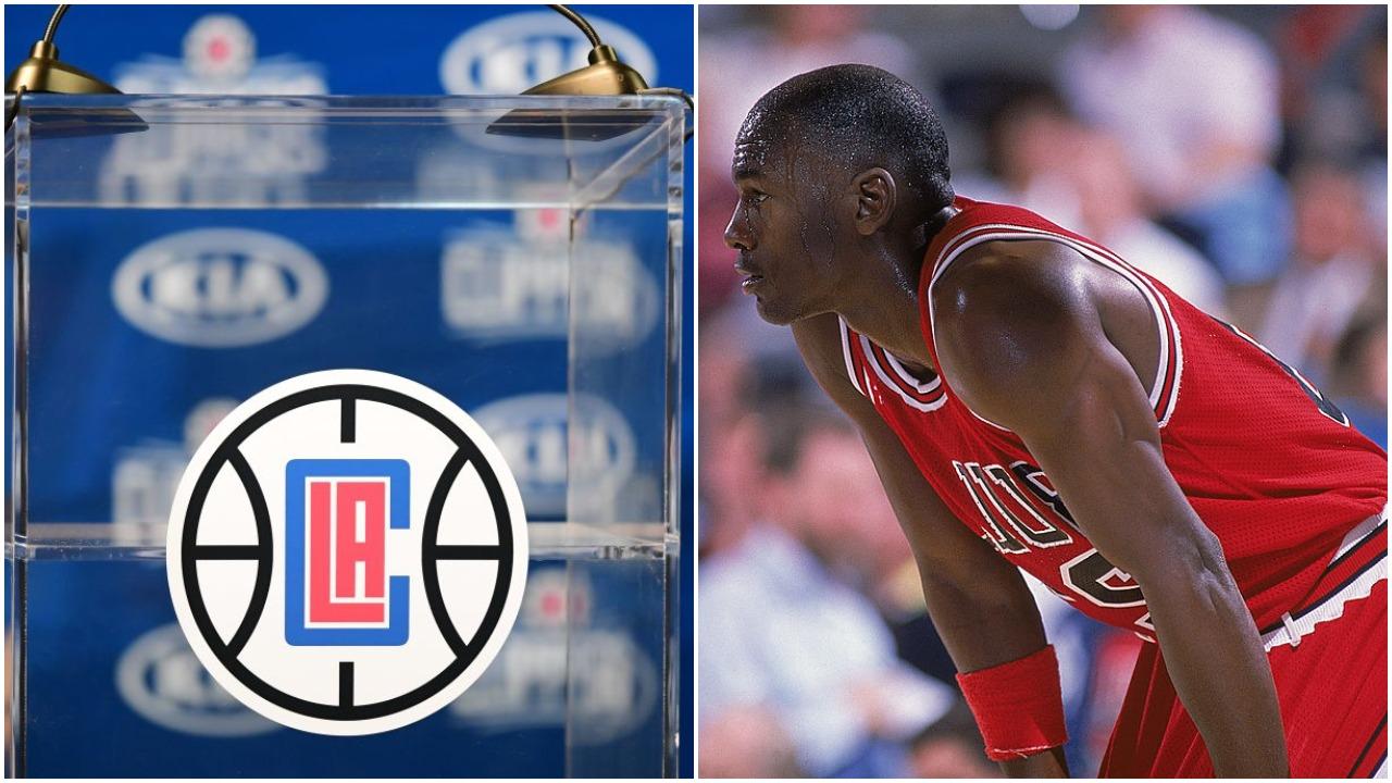 Michael Jordan Chicago Bulls Los Angeles Clippers