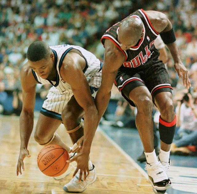 Nick Anderson: Michael Jordan in No. 45 Isn't the Same Michael Jordan in No. 23