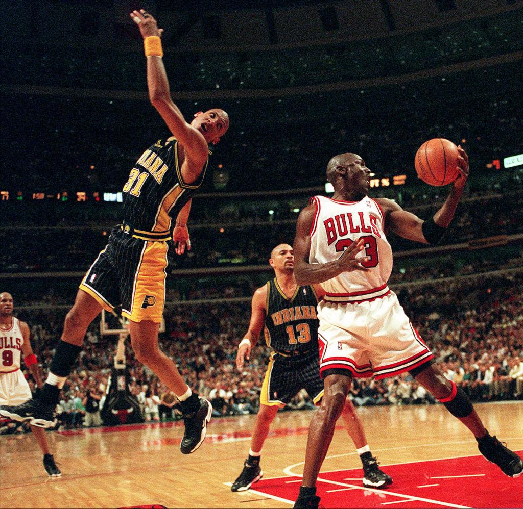 Michael Jordan Reggie Miller