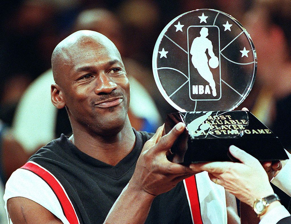 Hall of Famer Michael Jordan