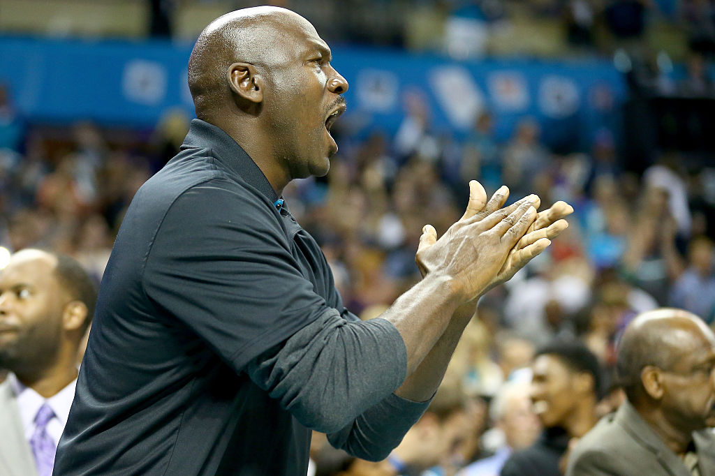 Michael Jordan doesn't think he has the patience to cut it as a basketball coach.