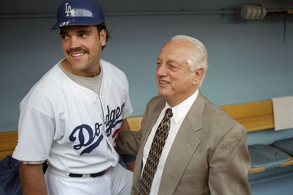 If not for Tommy Lasorda, Mike Piazza might not have even become a professional baseball player.
