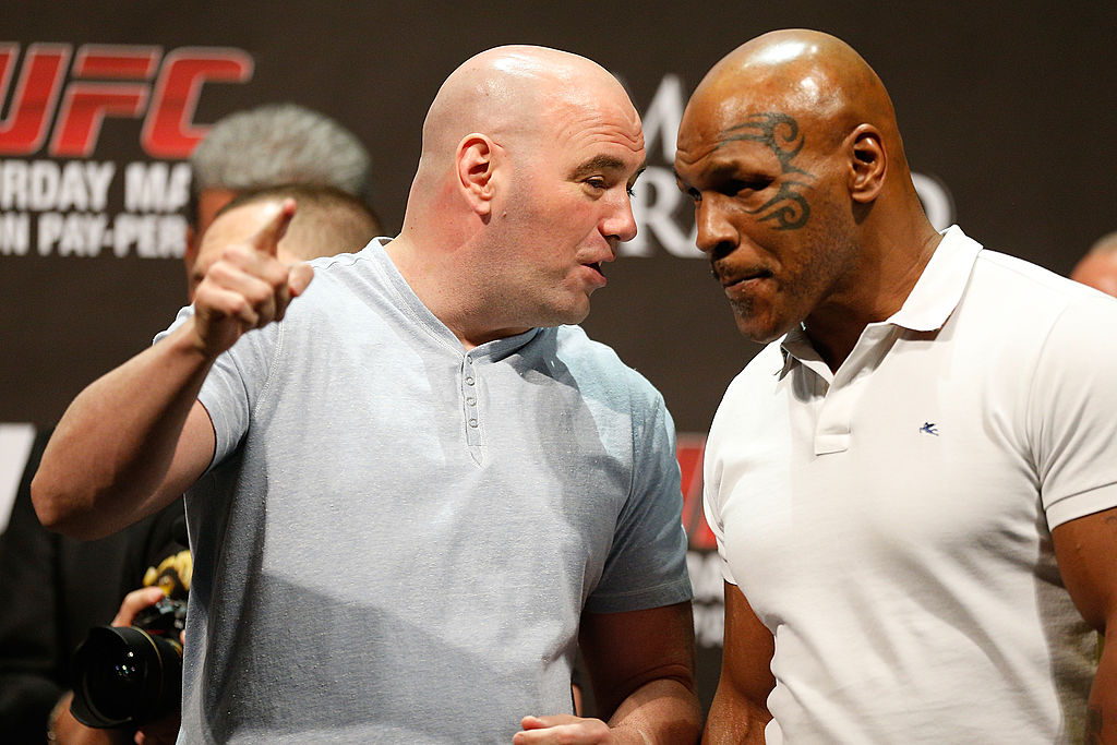 Mike Tyson Is Receiving Praise From Some UFC Stars
