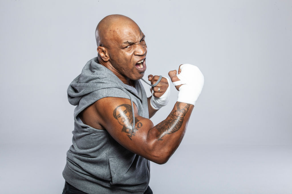 Former heavyweight champoin Mike Tyson