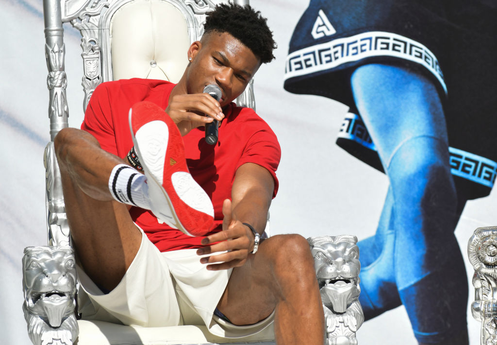 Giannis Antetokounmpo's Second Edition Nike Shoe Tells the Next Part of His Story