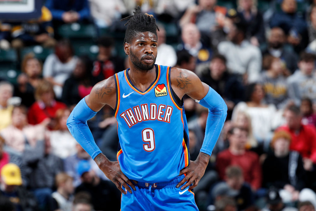 Nerlens Noel of the Oklahoma City Thunder