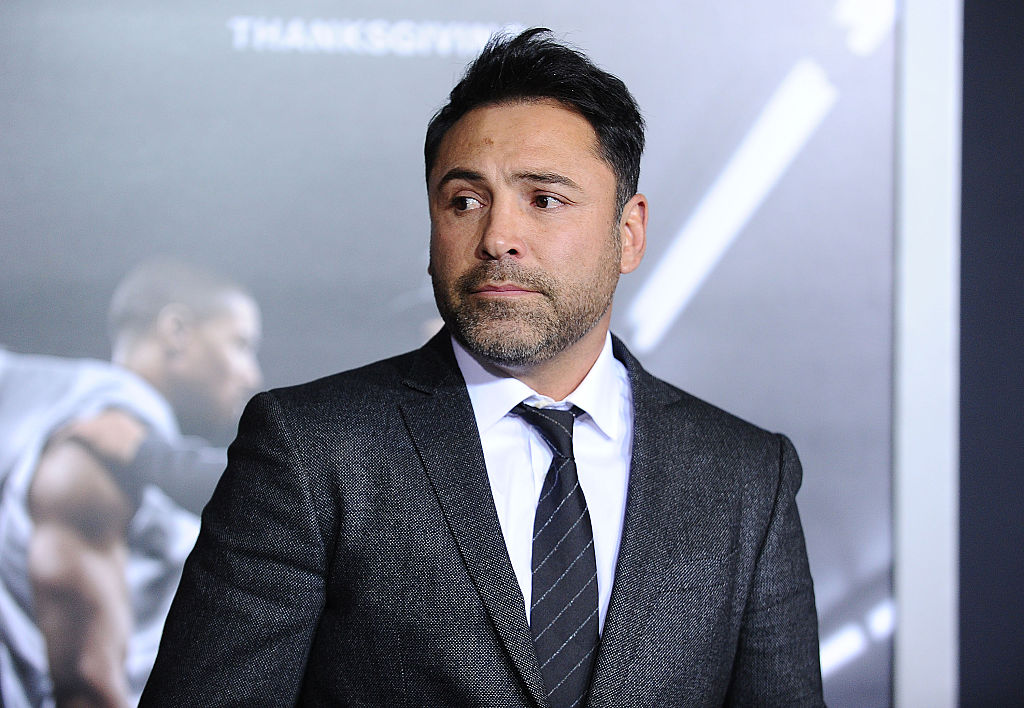 Oscar De La Hoya at the premiere of the movie 'Creed'